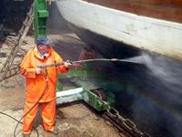 Arbeiten in der Werft