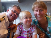 Familie Beckmann - Tjark, Tomke und Daniela