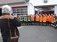 Gruppenfoto Feuerwehr