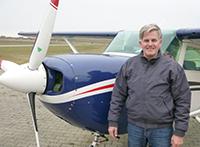 Koch und Pilot Olaf Klün