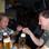 Kameramann Jan-Peter Sölter (rechts) und Kamera-Assistent Sebastian Beck probieren…