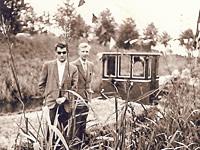 Erhard Jüsche mit Gerd Constapel