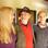Theo mit Ehefrau Margret und Tochter Hedi.