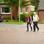 Carmen Appelhagen spaziert mit ihrem Patenonkel Bernd durch Pilsum.
