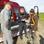 Vorbereitungen für die Luftaufnahmen mit Hubschrauber-Pilot Frank Zabell (links)