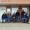 Die Rentnerbank im Hafen von Ditzum. Jeden Tag werden hier Neuigkeiten ausgetauscht.
