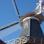 Ein Wahrzeichen von Ditzum - die Holländer-Windmühle