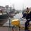Jan Bruins am alten Hafen von Weener.