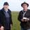 Foto-Reporter Jan Bruins mit Landwirt Arnold Venema.