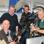 """Drehtermin in der Redaktion der """"Rheiderland-Zeitung"""" (v.l.) Jan Bruins, Autor Johann Ahrends, Kamera-Assistent Torben Schütt und Kameramann Reinhard Bettauer."""