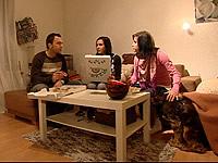 Christiane Bischoff mit Freund Paul Friedel und Freundin