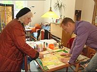 Dorit Joost-Amri im Seniorenheim