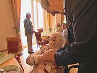 Hemuth Artmann in der Hollenbach-Stiftung