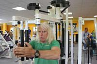 Martin Beber trainiert