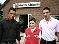 Vinzenzo, Angelo und Lorenzo Arndt