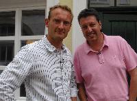 Burkhard Riepenhoff mit Sven Tietzer