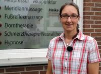 Heike Vogler hat in Bornhausen eine Naturheilpraxis