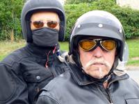 Arno und Sonja auf Harley