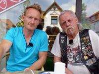 Sven Tietzer mit Arny
