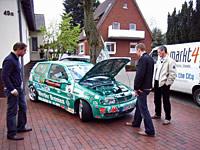 Peter Triphaus und sein SV Werder-Fan-Polo