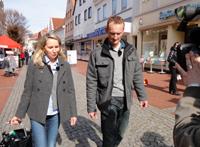 Spaziergang in der Innenstadt von Verden mit Sven Tietzer