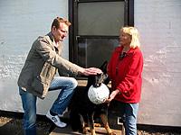 Ursula Schmidt mit Hund