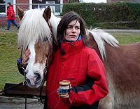 Britta Gaiser-Steeg und ihr Pferd