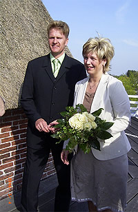 Ostfriesisches Brautpaar