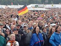 Public Viewing in Scheeßel